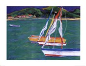 Tropical Sailboats II