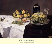 Still Life with Melons and Peaches
