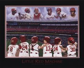 Little Red Machine - Rose, Bench, Griffey, Morgan, Perez, Encarnation