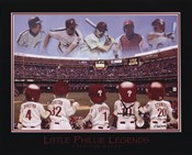 Little Phillies Legends - Carlton, Schmidt, Ashburn, Dykstra, Daulton