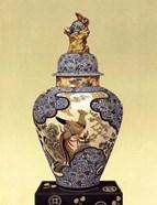 Oriental Blue Vase I