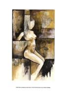 Mini-Contemporary Seated Nude I