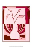 Minimalist Flowers in Pink I