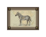 Zebra with Border I