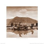 Fountain Study - Villa Olmo, Italy