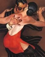 Femme au Robe Rouge
