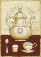 Caffe Latte and Cupcake