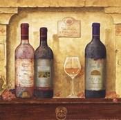 Wine Bottle Cluster III