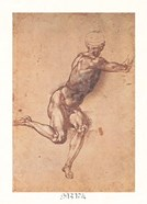 Study of a Seated Male Figure