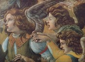 Angels (Detail from The Coronation)