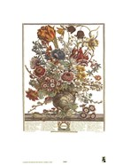 March/Twelve Months of Flowers, 1730