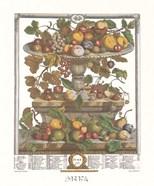 June/Twelve Months of Fruits, 1732