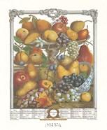 November/Twelve Months of Fruits, 1732