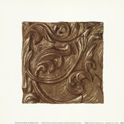 Copper Leaf Frieze
