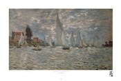 Boats, Regatta at Argenteuil