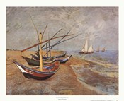 Boats at Saint-Maries, 1888