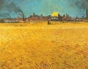 Cornfields Near Arles