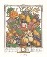 October/Twelve Months of Fruits, 1732