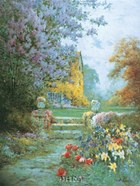 Lilacs & Iris