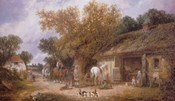 The Country Blacksmith, 1870