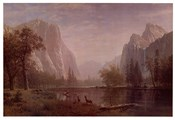 Lake in Yosemite Valley