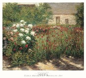Garden at Giverny, c. 1890