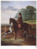 Huntsman with his Greyhounds