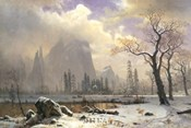 Yosemite Winter Scene