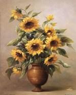 Sunflowers In Bronze I
