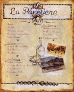 Paris Menu II