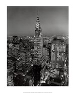 New York, New York, Chrysler Building at Night