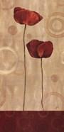 Pop Art Poppies I