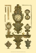 Antique Decorative Clock I