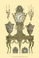 Antique Decorative Clock II