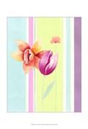 Flowers & Stripes II