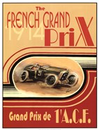 Printed French Grand Prix 1914