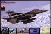 Airplane Fighting Falcon F-16