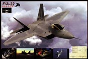 Airplane Raptor F/A-22
