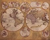 Map - Globe Terrestre