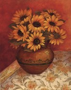 Tuscan Sunflowers I - mini