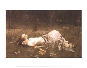 Ophelia (lying in the meadow), 1905