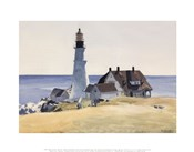 Lighthouse and Buildings, Portland Head, Cape Elizabeth, Maine, 1927