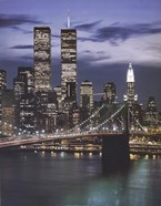 Wtc With Brooklyn Bridge