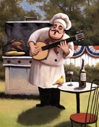 Barbecue Chef and Banjo