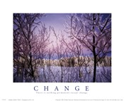 Change - Snowy Trees