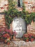 Wooden Doorway, Siena