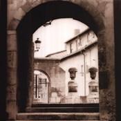 Courtyard In Burgos