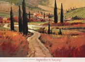 September In Tuscany I