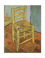 Van Gogh's Chair and Pipe, c.1888