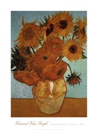 Sunflowers on Blue, c.1888